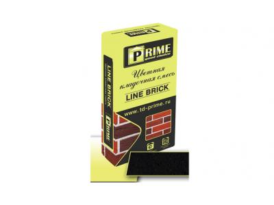 """Prime """"Line Brick Klinker"""" 7653 Черная  25 кг"""