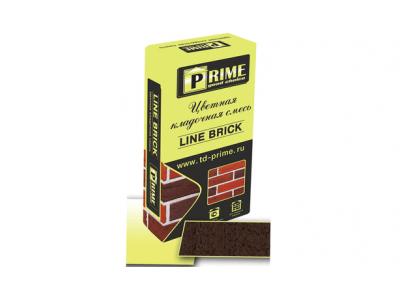 """Prime """"Line Brick Wasser"""" 4503 Коричневая  25 кг"""