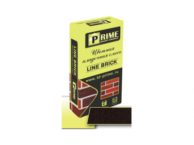 """Prime """"Line Brick Klinker"""" 7553 Шоколадная  25 кг"""
