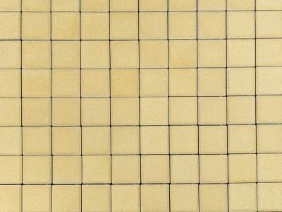 Тротуарная плитка Лувр, Песочный, 200х200