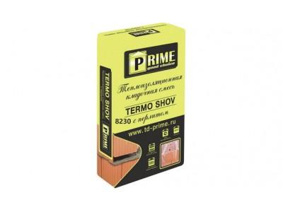Теплая кладочная смесь Prime Termo Shov 8230, 17.5 кг